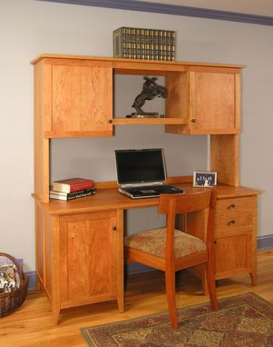 Custom Made Custom Desk For The Home Office