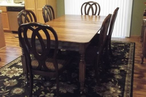 Custom Made Restored 100 Year Old Antique  Table