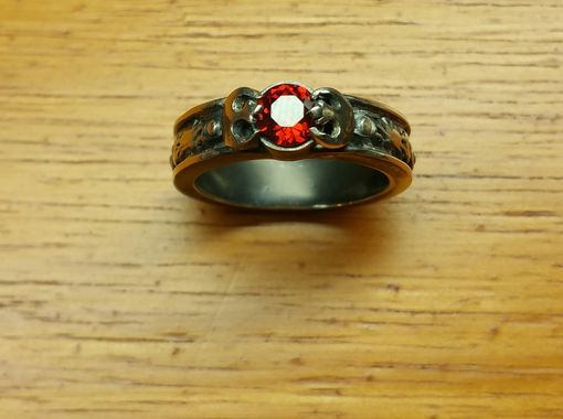 Custom Made Princess Leia Star Wars Inspired/ Rebel Alliance Engagement Wedding Ring