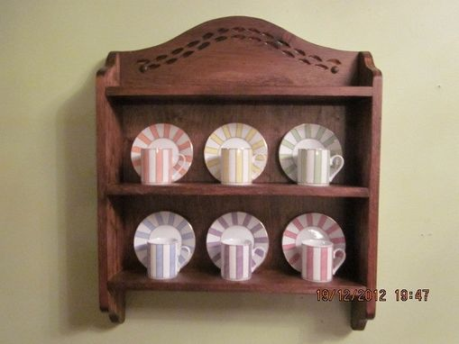 Custom Made Vanessa, The 6-Teacup Shelf