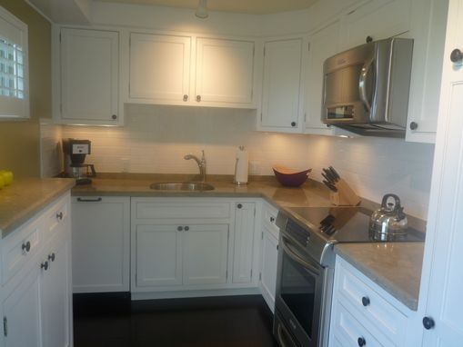 Custom Made Small Condo Kitchen Renovation