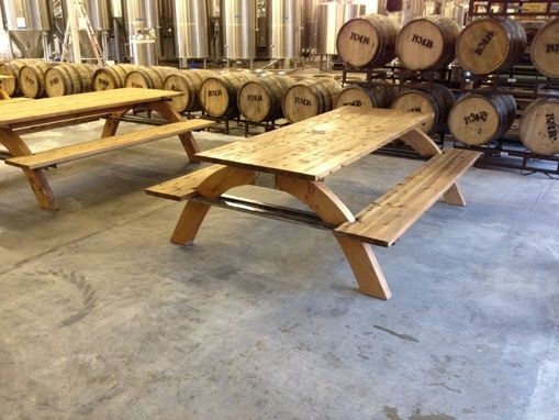 Custom Made Industrial Picnic Table