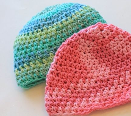 Custom Made Ombre Baby Hat, Beanie, Personalize With Initial, Name, Select Color,Cotton