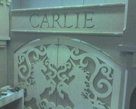 Custom Made Carlie's Bed