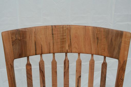 Custom Made Ambrosia Maple Rocking Chair - Shipping Included