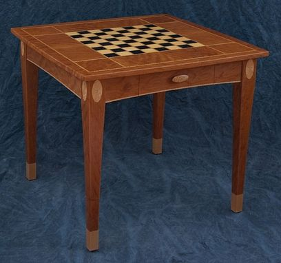 Custom Made Jeanne's Chess Table
