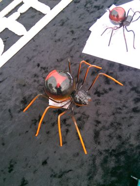 Custom Made Large Metal Steel Spider