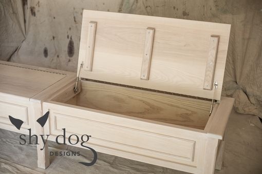 Custom Made Storage And Seating Dining Bench