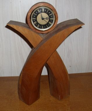 Custom Made Wooden Desk Clock