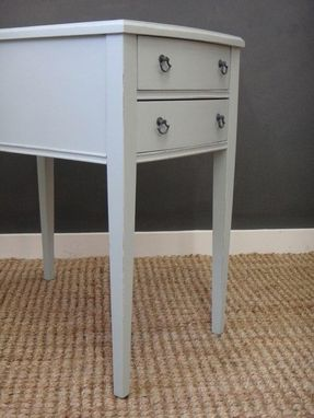 Custom Made Hand Painted Bedside Tables