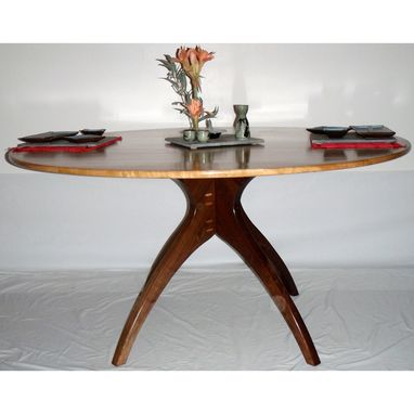 Custom Made Walking Table Copyright 2008 In Cherry And Walnut
