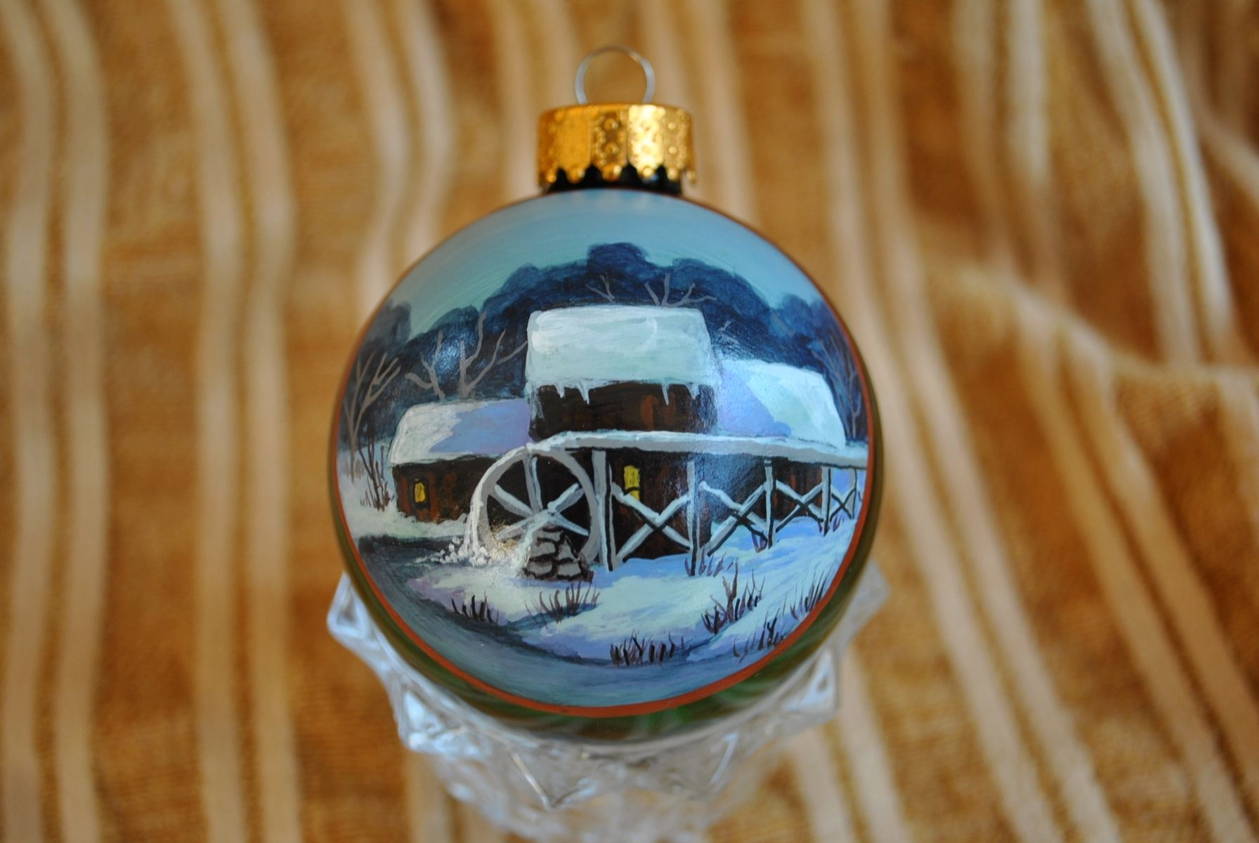 Custom Hand Painted Ornaments By Annetastic Designs Custommade Com
