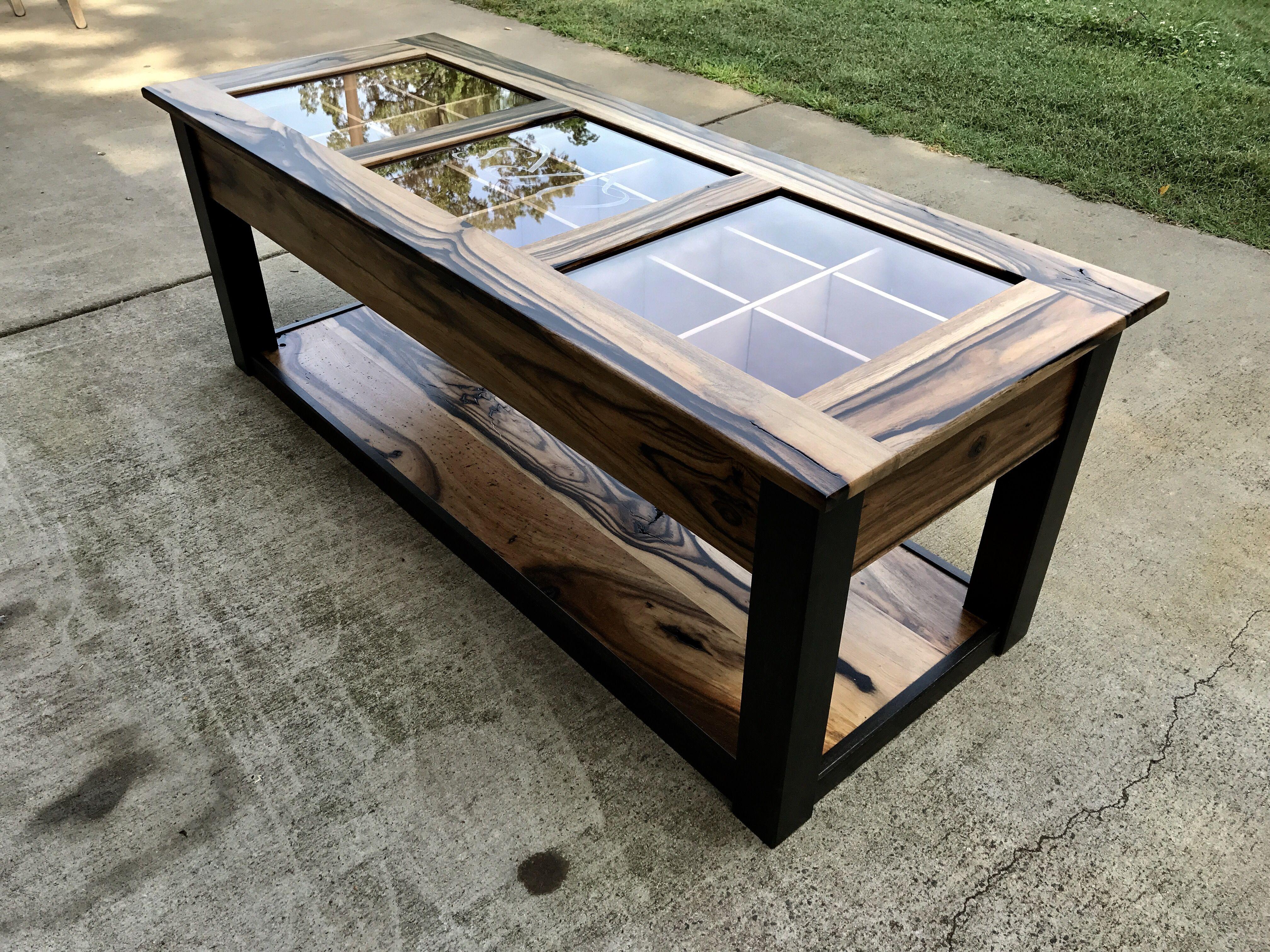 - Handmade Coffee Table Humidor By Carolina Wood Designs