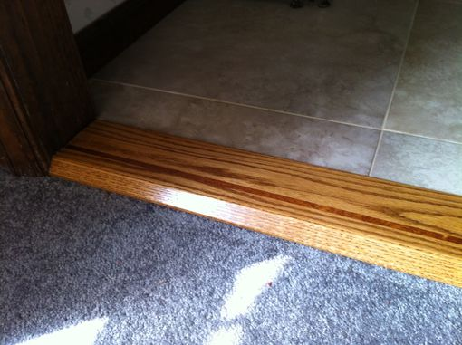 Hand Made Thresholds, Door Saddles, Room Transitions by ...