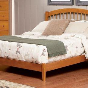 caramel latte queen trundle bed - Queen Trundle Bed Frame