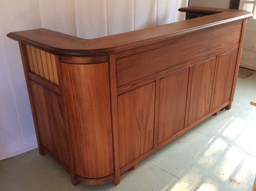 Custom Made Eight Foot Reception Desk