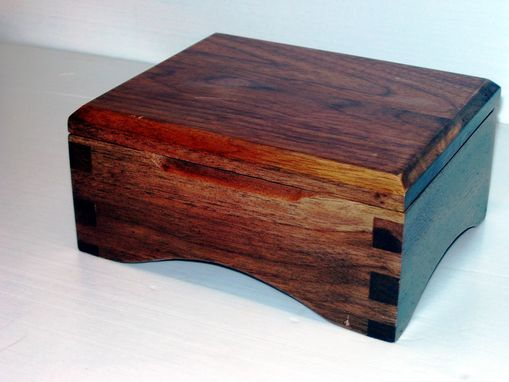 Custom Made Walnut Keepsake Box