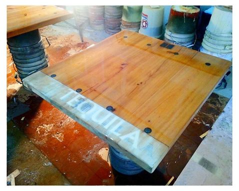 Custom Made Cantina Style Tables
