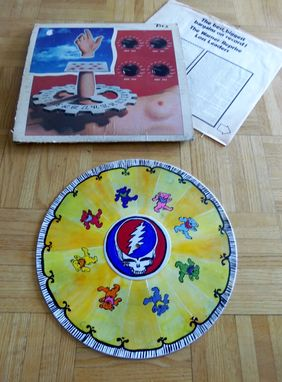 Custom Made Upcycled Hand Painted Vinyl Record - Grateful Dead / Jerry Garcia