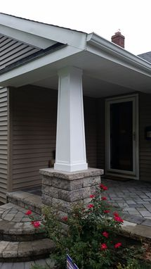 Custom Made Porch Column