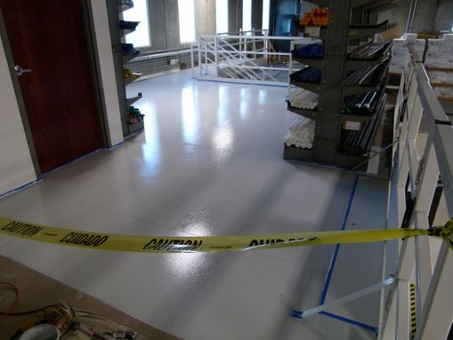 Custom Made Industrial Commercial Floor Refinish - Ortho Development, Slc Utah