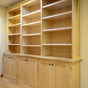 Maple Bookcases By Joshua White