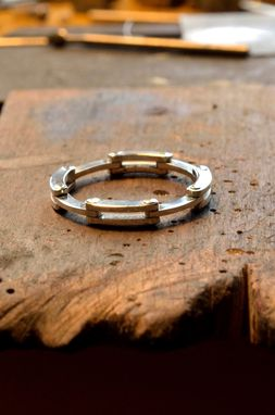 Custom Made Collapsing Hinge Ring
