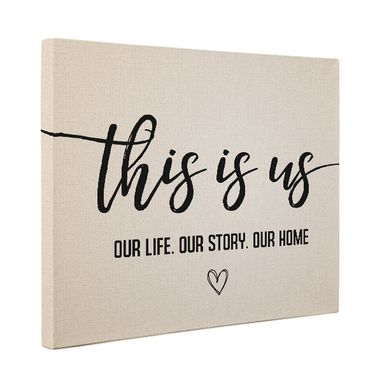 Custom Made This Is Us Wedding Anniversary Canvas Wall Art