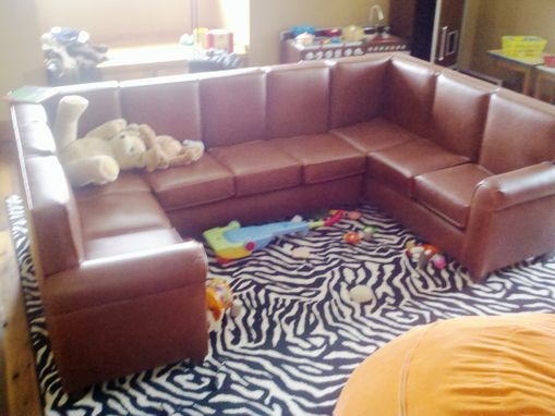 Custom Made Three Piece Sectional