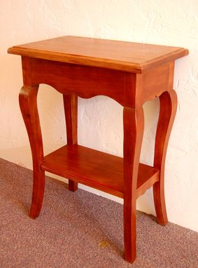 Custom Made Country French Sidetable In Cherry
