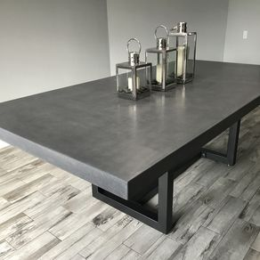 Dining Table 10 Person 9ft X 4 5ft 3 Inches Thick Concrete