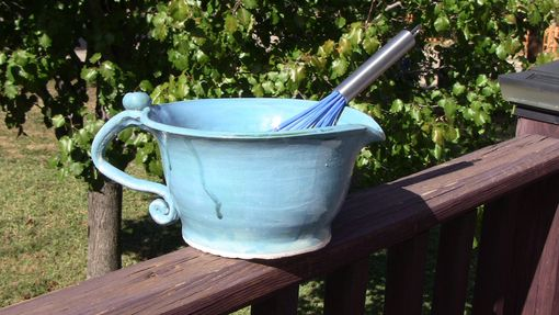 Custom Made French Blue Batter Bowl