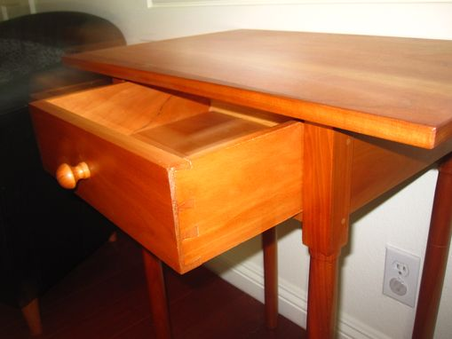 Custom Made Classic Cerry End Table