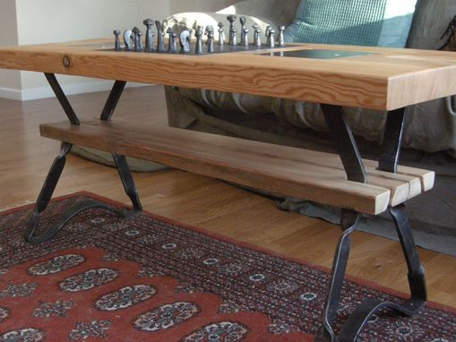 Custom Made Chess Table