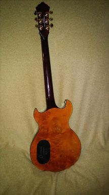 Custom Made Custom Occhineri Guitar Satinwood