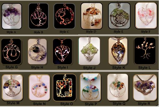 Custom Made Christmas Gift Ideas,Mother Gift,Wife Gift, Tree Of Life,Family Birthstone Jewelry,Mother Jewelry