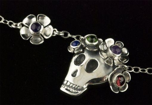 Custom Made Dia De Los Muertos Medium Skull