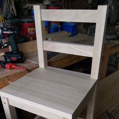 Custom Made Barstools-Solid Wood
