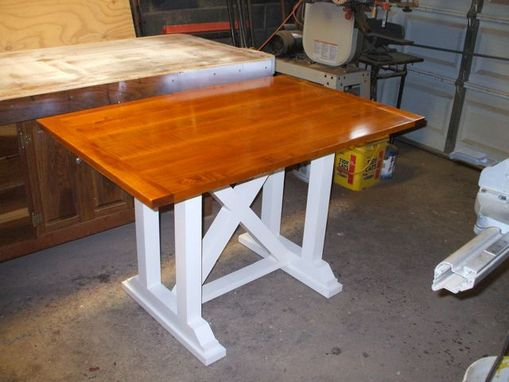 Custom Made Tiger Stripe Maple Table