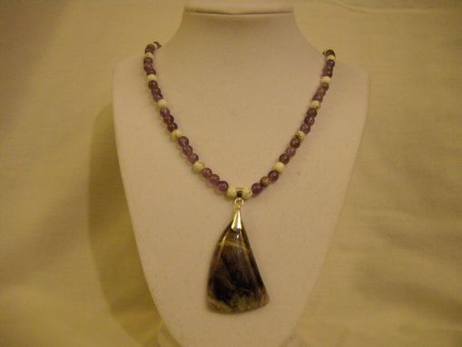 Custom Made Dogtooth Amethyst Necklace