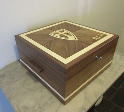 Custom Made Policeman's Custom Valet Box