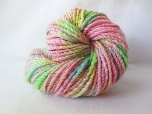 Custom Made Handspun Yarn / Hand Spun Hand Dyed Yarn
