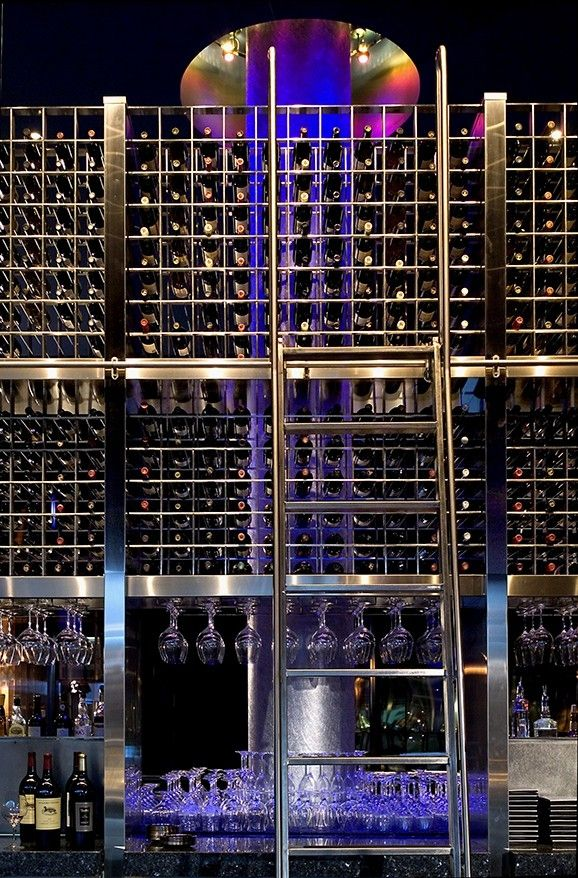 Custom Made Wine Tower Cue Restaurant Bar Guthrie Theater Minneapolis Mn