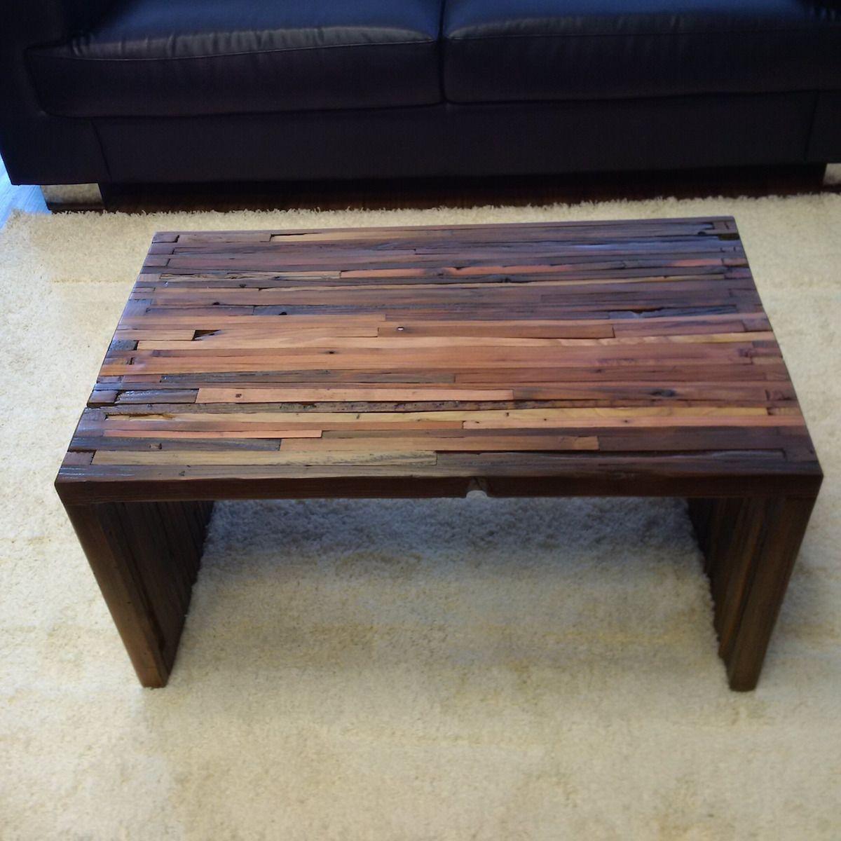 Make A Reclaimed Wood Coffee Table: Hand Made Reclaimed Wood Coffee Table By Sweet Redemption