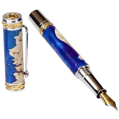 Custom Made Lanier Majestic Fountain Pen - Cancun - Mf1w151