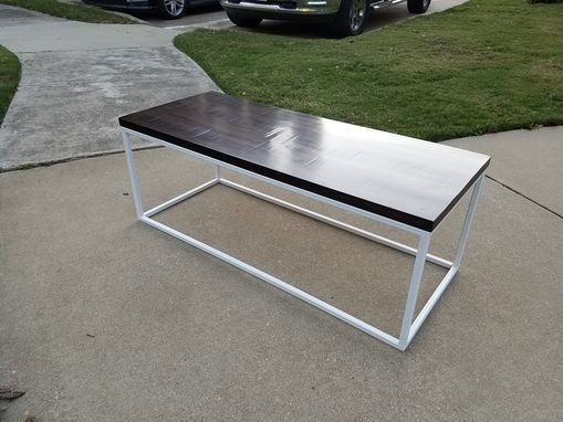 Custom Made Modern Reclaimed Coffee Table