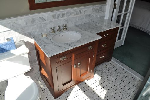 Custom Made Dresser Style Bathroom