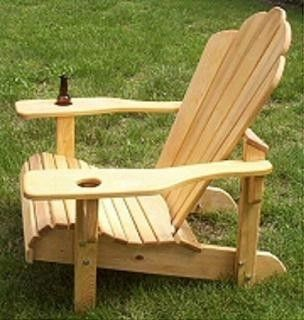 Custom Made Adrondack Chairs, Outdoor Furniture,