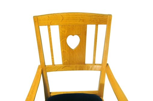 Custom Made Heart-Back Armchair