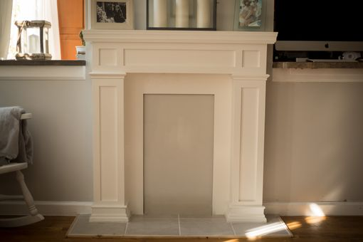 Custom Made Victorian Style Faux Fireplace
